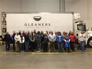 Conference staff join together for service opportunity at Gleaners Food Pantry